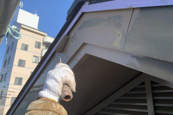 付帯部塗装・破風板塗装