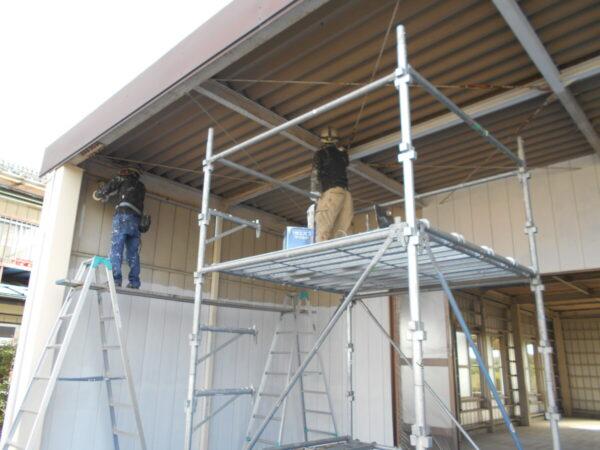 外壁、鉄部塗装